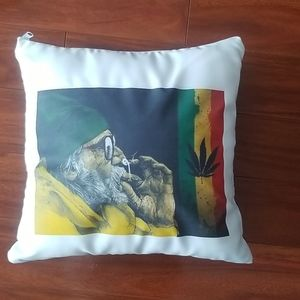 Handmade pillow case cover with pillow included